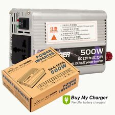 500W watt Car Power Inverter Voltage Converter DC 12V to AC 220V USB output