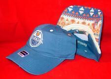 New Licensed NHL Edmonton Oilers Womens Reebok Adjustable Hat TOO CUTE!  B44
