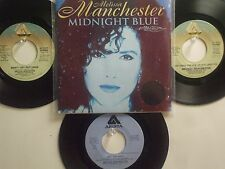 LOT OF 4 ' MELISSA MANCHESTER ' HIT 45's+1PS(Copy)[Midnght Blue]  THE 70's&80's!