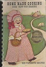 *SHEFFIELD MA 1988 MOTHERS CLUB COOK BOOK *HOME MADE COOKING *MASSACHUSETTS RARE