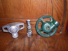 VINTAGE LOT LAWN GARDEN WATER SPRINKLERS HOSE NOZZLE CAST IRON BRASS RAIN BIRD