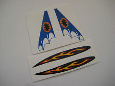 Corgi 1003 Batman Custom Batboat Stickers Decals  - Full Set