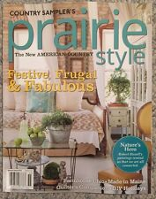 Country Sampler's Prairie Style Festive Frugal And Fabulous 2015 FREE SHIPPING