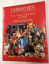 Christie's Toys,Trains,Thunderbirds Dinky & Dolls Auction Catalogue July 1998