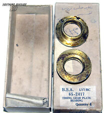 BSA 65-2417 Timing gear plate 66-2008 bearing B31 33 34 M20 21 new old stock NOS