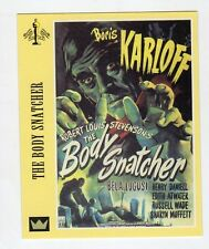 Figurina SUPERCINEMA EVENTS MAXI CARDS NUMERO 99 THE BODY SNATCHER