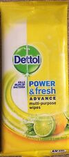 Dettol Multi Purpose Wipes 20 Large Wipes Pack Of 2