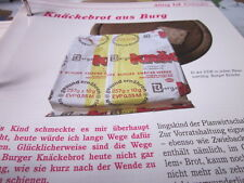 Das war die DDR Alltag Einkaufen Knäckebrot aus Burg