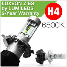 LED H4 LUXEON Z ES Headlight 6500K High Low Beam Replacement Halogen Car 12V 24V