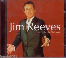 JIM REEVES According to Heart 2CD Classic 50s 60s Country FOUR WALLS  Anthology