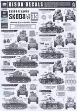 Bison Decals 1/35 EAST EUROPEAN PANZER TANKS SKODA LT vz-35
