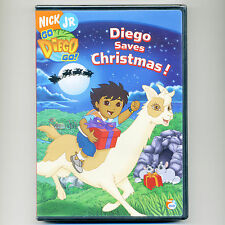 Diego Saves Christmas, new DVD Nick Jr. PBS episodes kids Santa llama penguin