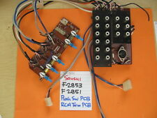 SANSUI F-2853 F-2851 PUSH SWITCH AND RCA TERMINAL PCB G-701 G-7000 RECEIVER