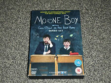 MOONE BOY : SERIES 1 & 2 -  2 DISC SKY TV COMEDY DVD - IN VGC (FREE UK P&P)