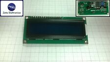 Display LCD 16x2, hd44780, Arduino, retroilluminato a LED, BLU + modulo I2C