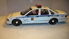 UT MODELS 1/18 BROSSARD POLICE 1996 CHEVY CAPRICE USED NEAR MINT NO BOX