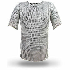 CHRISTMAS GIFTS Aluminium Chainmail Shirt Butted Chain Mail XL Size