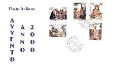 SOTTO COSTO. REPUBBLICA: 2000 FDC GIUBILEO 2000, SERIE COMPLETA BOLLO SPECIALE