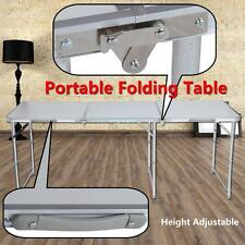 Portable Table Pliante de Camping Pique Nique Buffet Réception Aluminium 180CM