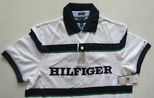 Tommy Hilfiger White Polo Shirt M Medium Brand New with Tags