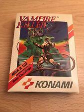 VAMPIRE KILLER / CASTLEVANIA - MSX KONAMI EUR BOX - BRAND NEW - RARE COLLECTORS