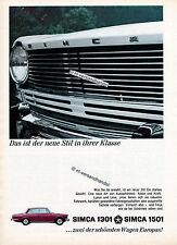 Simca-1301-1501-1966-Reklame-Werbung-genuine Advertising-nl-Versandhandel