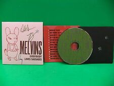 SIGNED BUZZO The Melvins Everybody Loves Sausages 2013 Letterpress CD 179/400
