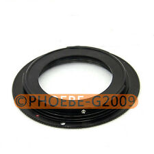 Black M42 Lens to Canon D-SLR EOS EF Mount Adapter Ring
