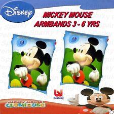 DISNEY MICKEY MOUSE IMPARARE A NUOTARE BRACCIALI Nuoto Ragazzi Ragazze Bambini Piscina Mickey