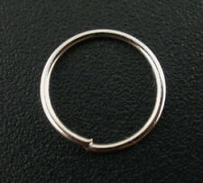 400Pcs Silver Tone Open Jump Rings 10x0.7mm Wholesale SP0053