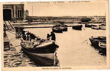 CPA  Environs  de Cherbourg - La Hague - Le petit port de Goury  (246126)