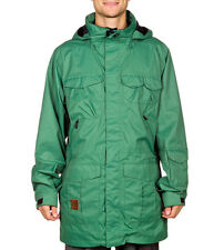 Analog Freedom Jacket AG Snowboard Ski Mens 10K Waterproof Burton Green S
