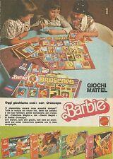 X9044 Barbie - Oggi giochiamo con Oroscopo - Pubblicità 1977 - Advertising