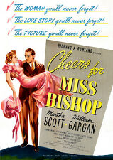 Cheers For Miss Bishop (2015, DVD NEUF) 644827241521