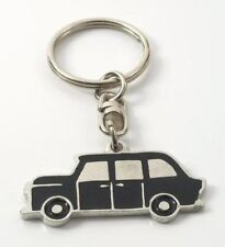English Pewter Handcrafted TAXI Black Cab Keyring  12932
