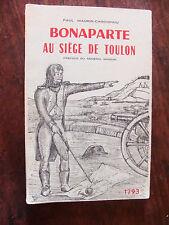 histoire empire     BONAPARTE AU SIEGE DE TOULON EN 1793