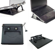2 Fan USB Port Cooling Cooler Pad for 14' 15.6' 17' Inch Laptops Notebook