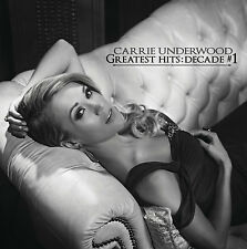 Greatest Hits: Decade #1 - Carrie Underwood (2CD, Arista) - FREE SHIPPING