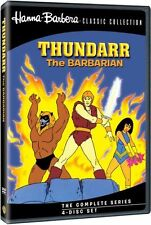 THUNDARR THE BARBARIAN (4PC) - (1980) Region Free DVD - Sealed