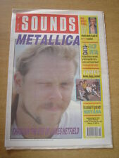 SOUNDS 1990 MAY 12 METALLICA BILLY IDOL FA CUP MAN UTD CRYSTAL PALACE NIRVANA