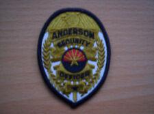 Da Stati Uniti Anderson Security Officer ca 8 x 6 cm