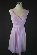$250 J Crew Petite Heidi Dress Silk Chiffon Party Dried Lavender Bridesmaid 0 P