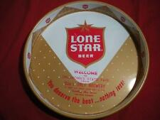 1970's Lone Star Metal Beer Tray From Oklahoma State Fair / LOOK!