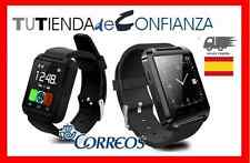 Nuevo Reloj U 8 Color NEGRO Notificaciones 2016 Tactil Bluetooth SMARTWATCH U 8