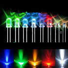 Green White Red Blue Yellow 3mm 100pcs LED Light Bulb Emitting Diode Lamps CHI