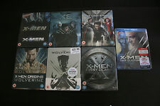 X-MEN STEELBOOK LOT 7 UK EDITION NEW XMEN 1,2,3,WOLVERINE 1,2,DOFP,FIRST, NEW