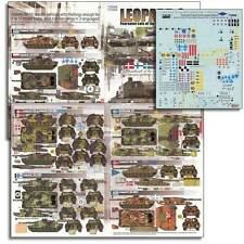 """Echelon 1/35 #T35008 Leopard 2 """"Fearsome Cats of the European Nations"""""""