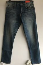JEAN SHOP Jim Slim-Fit Washed Selvedge Denim Jeans W32 L32 RRP £180