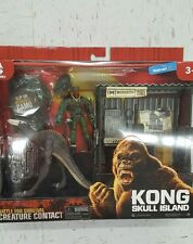 KONG SKULL ISLAND PLAY-SET WITH SAMUEL JACKSON ACTION FIGURE WALMART EXCLUSIVE