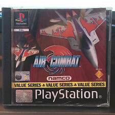 Air Combat PS1 (COMPLETE) Sony PlayStation box & cover only no disc or booklet